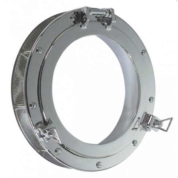 Hublot encastrable ouvrant 25cm aluminium for Hublot ouvrant encastrable