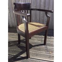 fauteuil  marine  palissandre