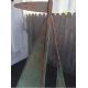Girouette bateau voilier cuivre et laiton patiné