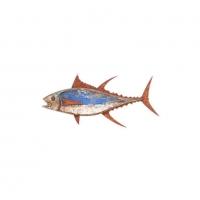 Décoration murale poisson 30 cm