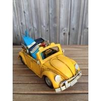 maquette de vw coccinelle surf jaune