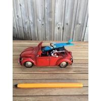 maquette de vw coccinelle surf rouge