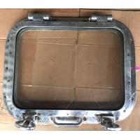Hublot / sabord de cargo aluminium poli ancien