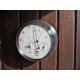 Baromètre thermomètre hygromètre inox extérieur