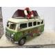 maquette de mini bus métal vert mai 68