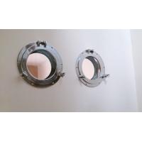 hublot encastrable ouvrant  aluminiumpour cloison et porte