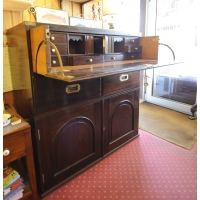 Commode secretaire marine ancienne