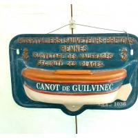 Tronc de canot de sauvetage hospitaliers sauveteurs bretons