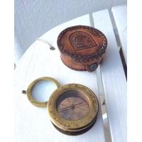 Boussole compas avec loupe pour carte marine