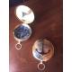 Boussole marine ancre laiton