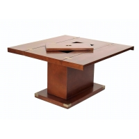 Table basse bar de salon marine carrée