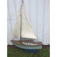 Maquette navigante ancienne de voilier  de Lorient