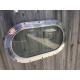Hublot de cargo aluminium oval fixe