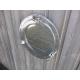 hublot miroir aluminium ouvrant 29cm
