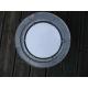 hublot miroir aluminium ouvrant 30cm