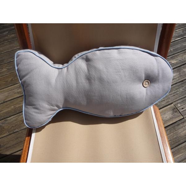 coussin dock en tissus d co marine. Black Bedroom Furniture Sets. Home Design Ideas