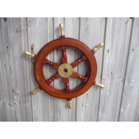Barre à roue 47 cm manetons laiton